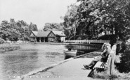 Aberdare, Park, Boating Lake c.1965