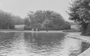 Aberdare, Park Lake c.1955