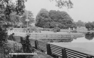 Aberdare, Park Lake c.1960