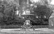 Aberdare, The Fountain c.1955