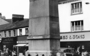 Aberdare, The Memorial In The Square c.1965