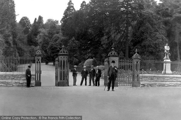 Aberdare, The Park 1937