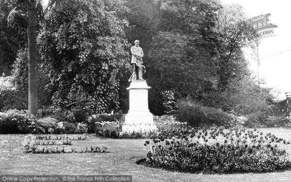 Aberdare, The Park c.1955