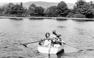 Aberdare, The Park Lake c.1955