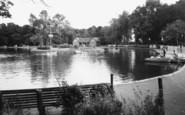 Aberdare, The Park Lake c.1960