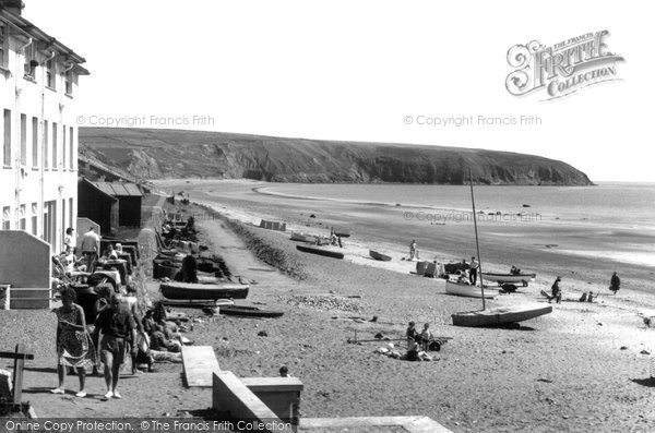 Aberdaron, The Beach c.1960