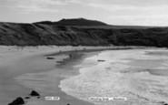 Aberdaron, Whistling Sands c.1960