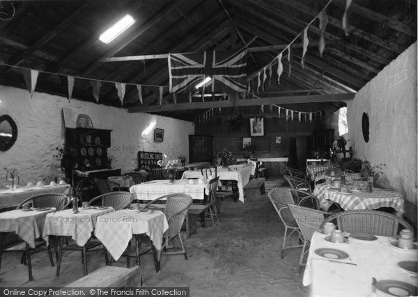 Aberdaron, Whistling Sands Cafe Interior 1936