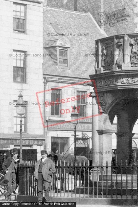 Aberdeen, 17 Castlegate 1892