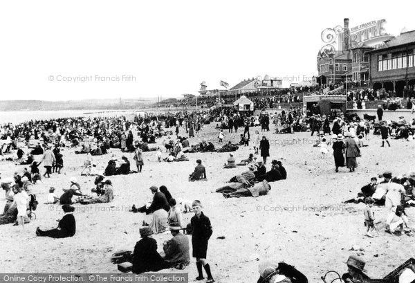 Photo of Aberdeen, the Beach and Bathing Station c1910