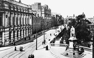 Aberdeen, Union Terrace And Gardens c.1915