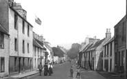 Aberdour, High Street 1900