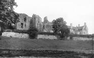Aberdour, The Castle 1897
