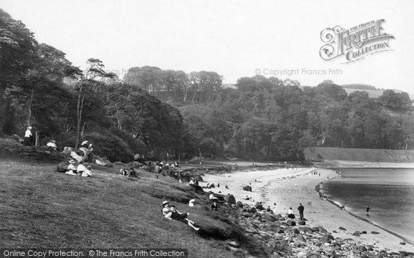 Aberdour, White Sands 1900