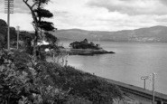 Aberdovey, Dovey Estuary From Outward Bound Sea School c.1955