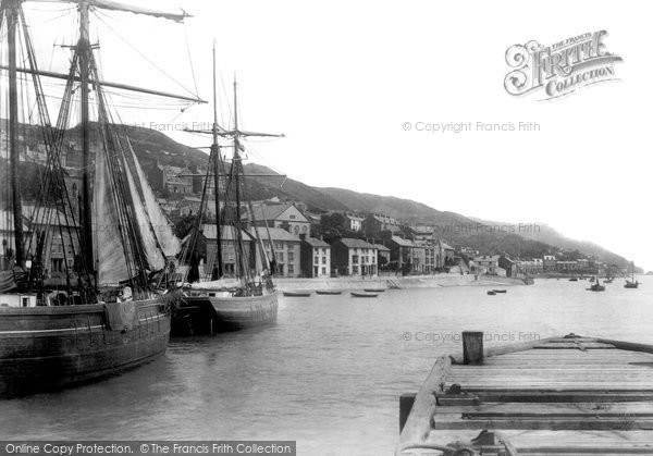 Aberdovey, From Pier 1901