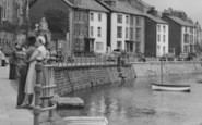 Aberdovey, Resting By The Promenade c.1960