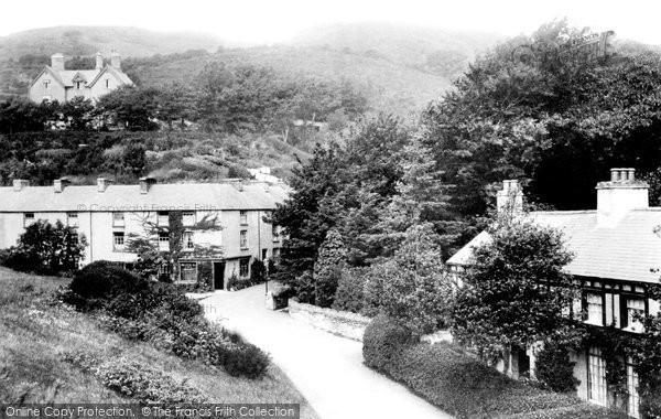 Aberdovey, Terrace Road 1901
