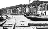 Aberdovey, The Beach 1955
