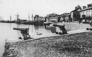 Aberdovey, The Harbour c.1890