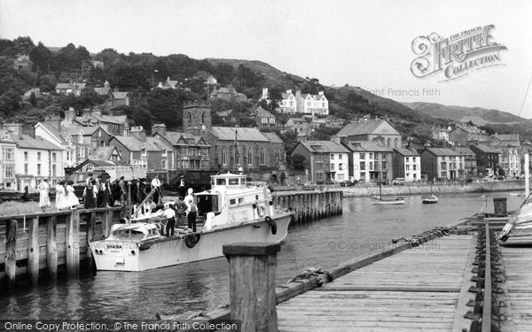 Aberdovey, The Harbour c.1960