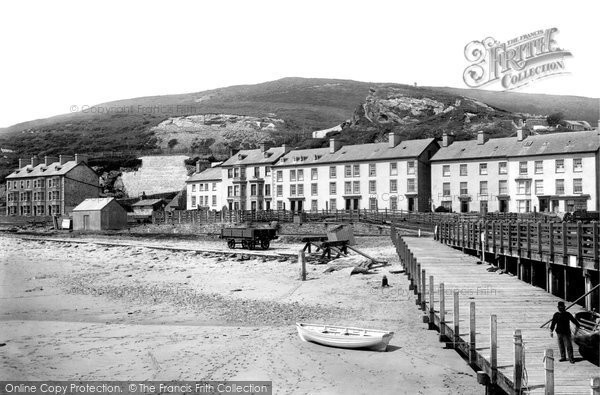 Aberdovey, The Seafront 1892