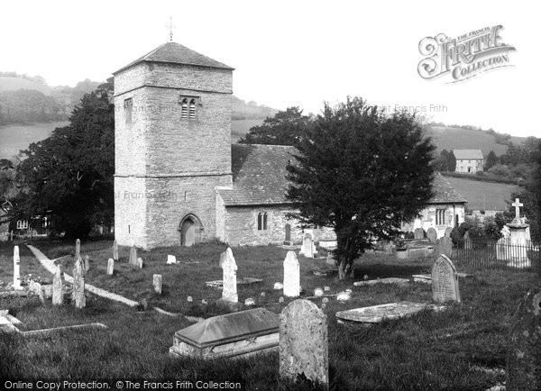 Aberedw, St Cewydd's Church 1936