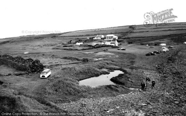 Abereiddy, The Village c.1960
