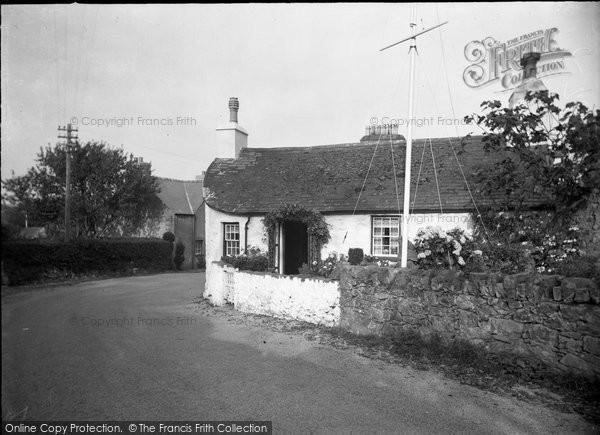Abererch, A Pretty Cottage 1936