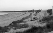 Abererch, Beach c.1935