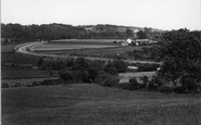 Abererch, By Pass Road c.1950