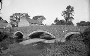 Abererch, The Old Bridge 1936