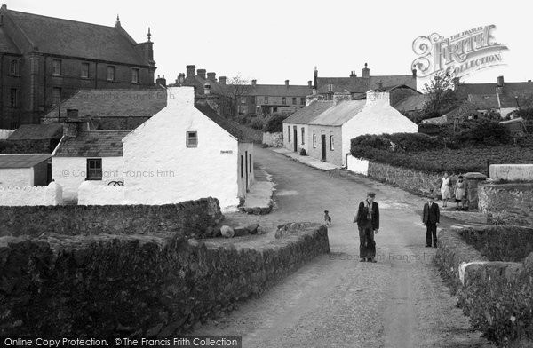 Aberffraw, Bridge Street c.1940