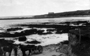Aberffraw, Porthcwyfan Beach And Church c.1939