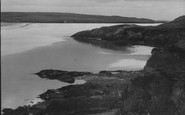 Aberffraw, The Point And Bay c.1940