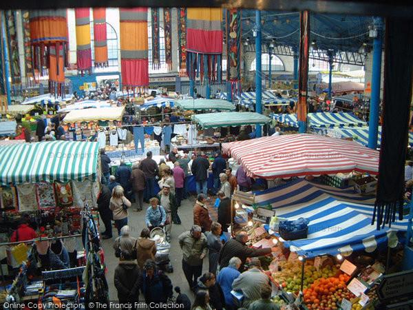 Abergavenny, A Tuesday Market In The Market Hall 2005