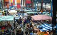 Abergavenny, A Tuesday Market In The Market Hall