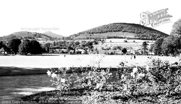 Abergavenny, Bailey Park c.1960