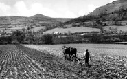 Abergavenny, Below The Sugar Loaf c.1955