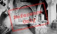 Abergavenny, Church, Interior Of Herbert Chapel 1893