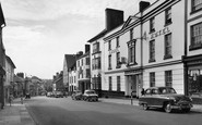 Abergavenny, Cross Street c.1960