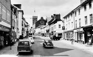 Abergavenny, Cross Street c.1965