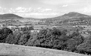 Abergavenny, From The Blorenge c.1960