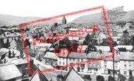 Abergavenny, General View c.1955