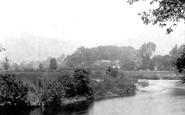 Abergavenny, River Usk 1898