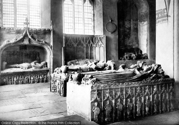 Abergavenny, St Mary's Church, The Herbert Chapel 1898