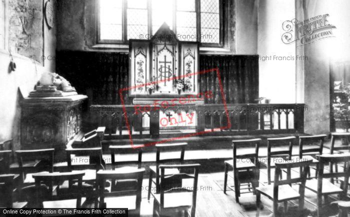 Abergavenny, St Mary's Church, The Lewis Chapel 1898