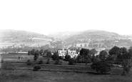 Abergavenny, Sugarloaf From The River Usk 1898