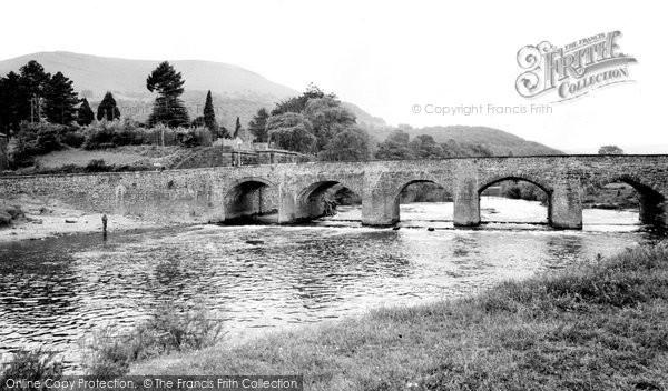 Abergavenny, The Bridge c.1965