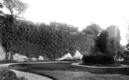 Abergavenny, The Castle 1893